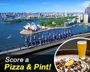 BridgeClimb Sydney - Weekday Daytime SPECIAL - INCLUDES PIZZA AND A PINT