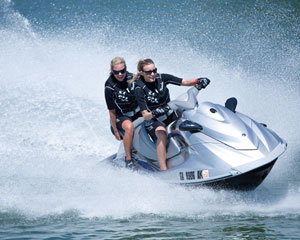 Jet Ski Adventure for two, 1.5hr South Stradbroke Island - Gold Coast