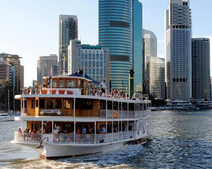 Sightseeing Paddlewheeler Cruise On The Brisbane River (Includes Drinks Package) WEEKDAY