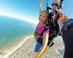 Skydiving 15,000ft Coastal Skydive Semaphore Beach - Adelaide