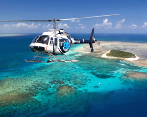 Great Barrier Reef Helicopter Flight, 60-minute Ultimate Reef & Rainforest - Cairns