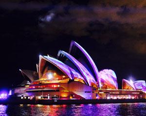 Vivid Sydney 1.5hr Harbour Cruise (BYO Drinks) - Sydney