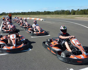Outdoor Go Karting, 2 X 10 Minute Session Plus Karting License - Gold Coast