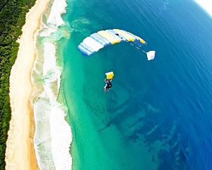 Skydiving Over The Beach Wollongong - Weekday Tandem Skydive Up To 15,000ft - WINTER SPECIAL