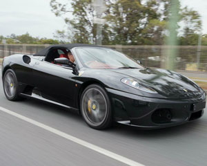 Drive a Ferrari, 1 Hour Plus Lunch For 2 - Brisbane (DRIVER PLUS PASSENGER!)