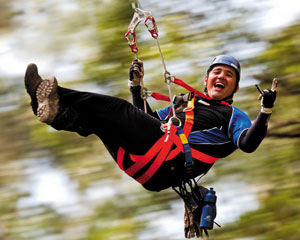 Illawarra Fly Treetop Zipline Adventure SPECIAL OFFER ADULTS FOR KID'S PRICE