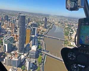 Helicopter Flight, Shared Scenic Tour Of Brisbane - 20 Minutes