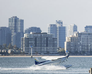 Melbourne City Skyline Seaplane Flight for Two, 15 Minutes WINTER SPECIAL OFFER