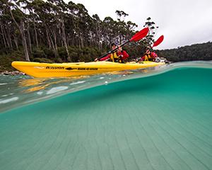 Full Day Guided Kayaking tour - Tasman Peninsula