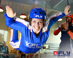 Indoor Skydiving Sydney, iFLY Intro Package (2 Flights) - SPECIAL OFFER 2-FOR-1