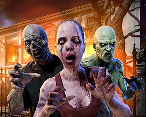 Free-Roam Zombie Virtual Reality Game