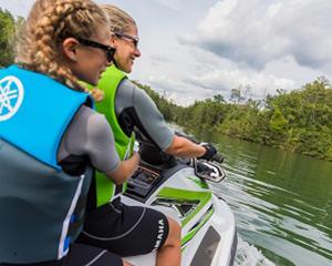 1 Hour Broadwater Adventure Jet Ski Tour ( RIDER PLUS PASSENGER ) NO LICENCE REQUIRED - Gold Coast