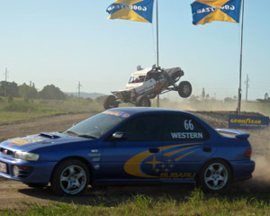 V8Race Buggy 8 laps and WRX Rally 8 Laps + 2 Hot Laps - Willowbank