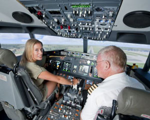 Flight Simulator, 60 Minutes + FREE 30 MINUTES AND FLIGHT RECORDING - Perth