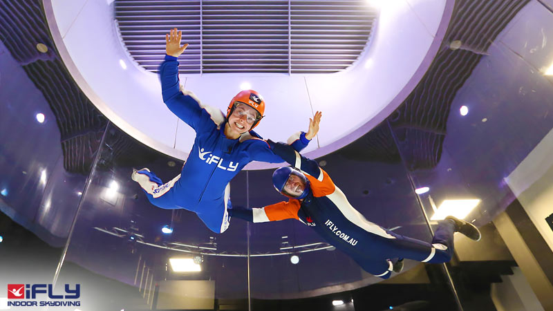 Indoor Skydiving Sydney, iFLY Intro Package (2 Flights) - NOW FLYING!