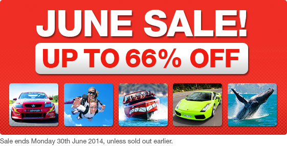Save Up to 60% OFF Gifts & Experiences at Adrenalin.com.au