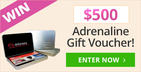 Win a $500 Adrenaline Voucher