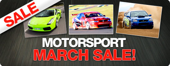 Motorsport SALE!
