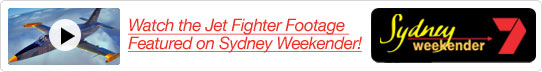 Jet Fighter Footage Featured on Sydney Weekender!