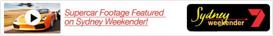Supercar Footage Featured on Sydney Weekender!