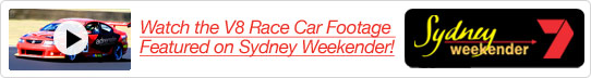 V8 Racing Footage Featured on Sydney Weekender!