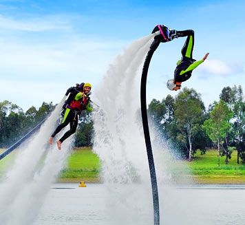 Jet Pack and Flyboard