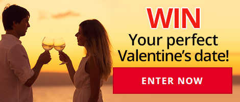 Win a perfect Valentines Date