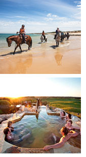 Horseback Beach Ride And Spa
