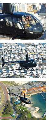 Hillarys Helicopter Flight