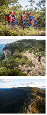 Narrowneck Blue Mountains Bike Ride