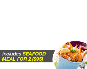 Seafood Meal for 2