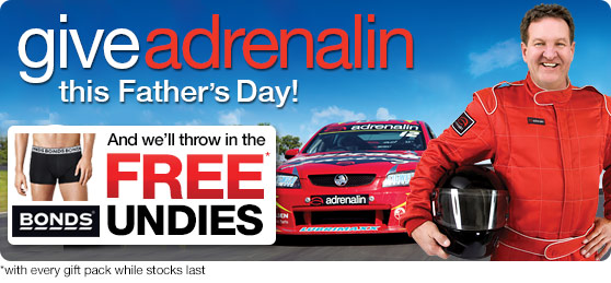 Give Adrenalin this Father's Day
