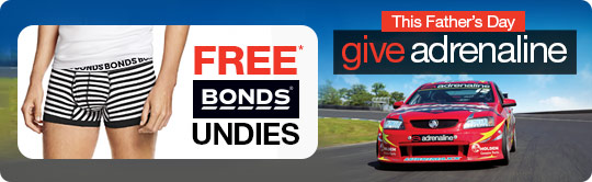 Father's Day FREE Bonds Undies offer