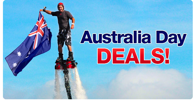 Australia Day sale - experiences from $24 at Adrenalin.com.au