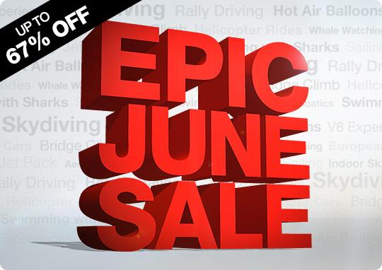 Epic June Sale