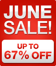 JUNE SALE - up to 60% OFF!