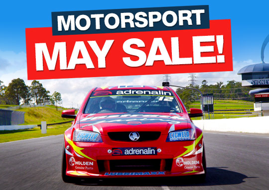 Motorsport May Sale