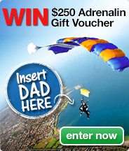 Win $250 Adrenalin Gift Voucher