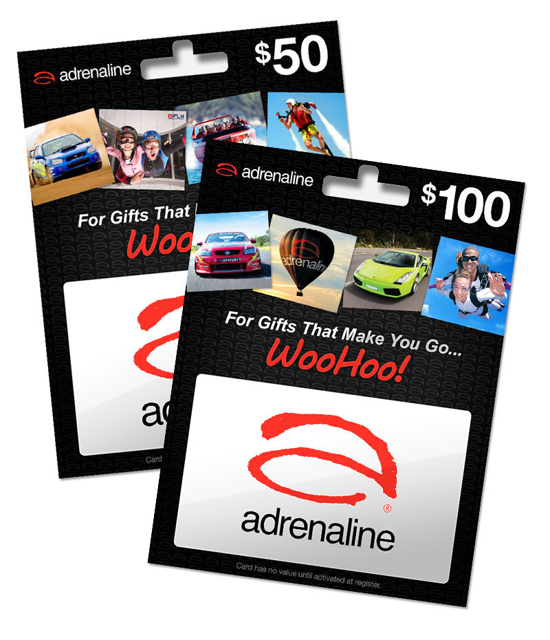 Adrenaline Gift Cards